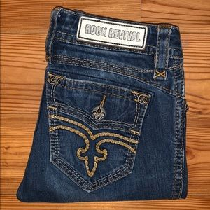 Women's Rock Revival Cali Skinny Jean, 27x31 *EUC*